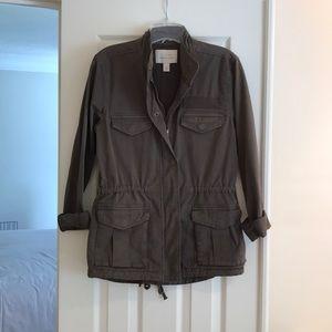 Hinge Army Green Jacket